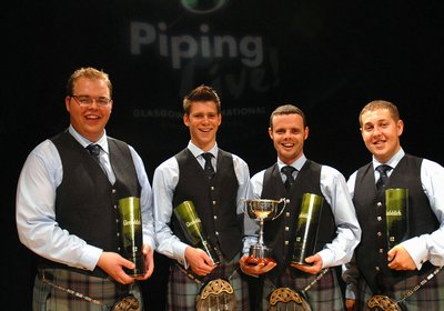Piping Live 2009 Quartets