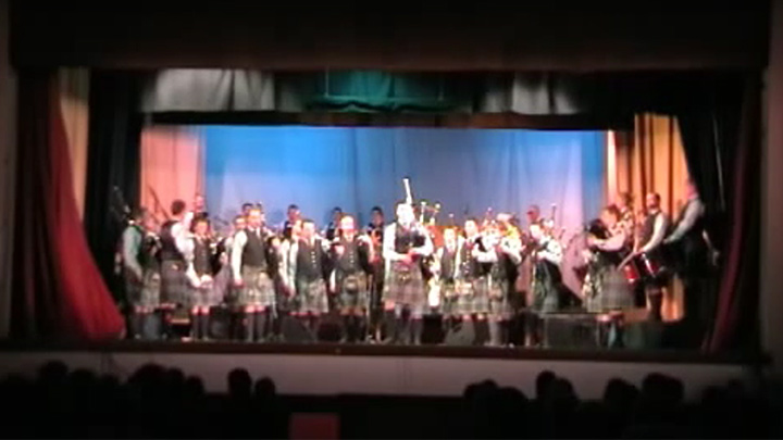 March 2009 Concert - March, Strathspey & Reel